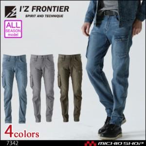 アイズフロンティア IZ FRONTIER ストレッチ3Dカーゴパンツ 7342