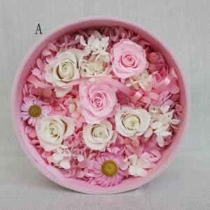 贈り物 フラワー プリザーブドフラワー ボックス 結婚式 バラ ローズ 花 恋人プレゼント 記念日 枯れない花 母の日 クリスマス