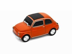 """""""AUTODRIVE 16GB【654266】USBメモリ 16GB Fiat Nuova500/フィアット500 ヌォーヴァ/ORANGE オレンジ【USBフラッシュメモリー/USBメモリー"""""""