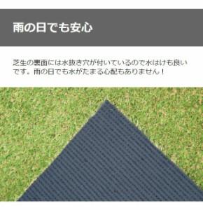 人工芝 芝生 2m×10m 芝丈20mm ロールタイプ 芝生マット 庭 ベランダ テラス バルコニー ガーデニング