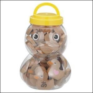 送料無料 アヒルドミノ 48PCS TY-0417 アヒルドミノ 木目ドミノ ひらがなドミノ 学習玩具 おもちゃ 知育玩具