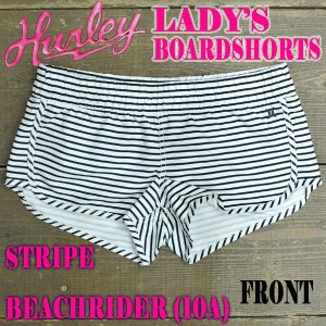 wholesale dealer 4fb65 654f2 HURLEY ハーレー LADYS STRIPE BOARDSHORTS SSDE 10A 女性用 サーフパンツ ボードショーツ