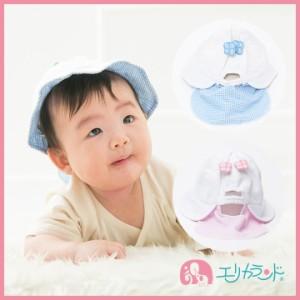 547e8cc7ca5cb  送料無料 日よけ付き帽子 布帛帽子 女の子 新生児 ベビー 花 ピンク