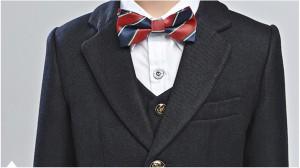 子供服 フォーマル スーツ タキシード 男の子 2点セット ジャケット+ズボン結婚式/発表会/七五三/卒業式  男児 子どもドレス 冬厚手