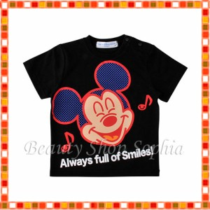 2bf4dd4aec85c ミッキーマウス ベビーTシャツ スマイルウェーブズシリーズ ディズニー グッズ お土産 東京ディズニー