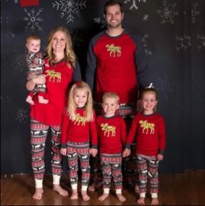 ★クリスマス人気★親子ペアルック 寝間パジャマ 部屋着 兄弟姉妹ペア 上下セットアップ ルームウェア 家族お揃い ギフト 寝巻き