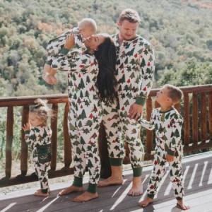 クリスマス 親子ペアルック 寝間パジャマ 部屋着 兄弟姉妹ペア オールインワン ルームウェア 家族お揃い ギフト寝巻き コスプレ
