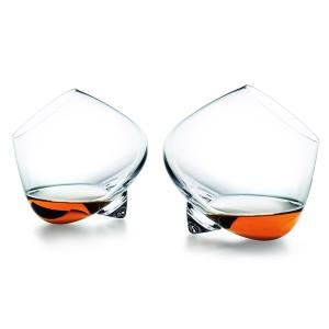 normann ノーマン コペンハーゲン コニャックグラス 2個 セット / おしゃれ ロックグラス ブラウンデーグラス セット