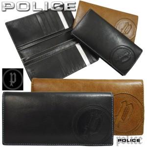 97a32a559072 POLICE ポリス 長財布 メンズ 本革レザー 二つ折り 長財布 BASIC カード入れ20