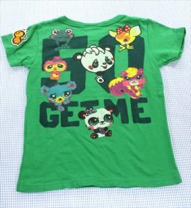 8ae353c8fac61 グラグラ GRAND GROUND Tシャツ 半袖 120cm 緑系 パンダ 女の子 キッズ 子供服