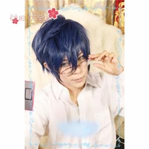 ACCA13区監察課 ニーノ  風 コスプレウィッグ かつら  cosplay wig 耐熱 専用ネット付