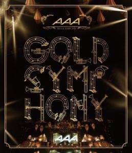 1809 新品送料無料 AAA ARENA TOUR 2014 -Gold Symphony- (Blu-ray)エイベ