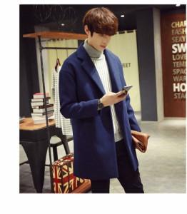 セール☆韓国風 メンズコート ビジネス チェスターフィールドコート 紳士 カジュアル ロングコート 学生 トレンチコート