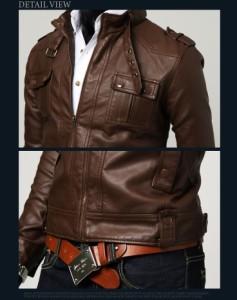 秋新作PUライダースジャケット メンズファッション アウター メンズ パーカー ジャンパー・ブルゾン