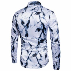 NEW-長袖シャツアルブロードシャツワイシャツきれい目ビジネスメンズファッショントップス シャツ