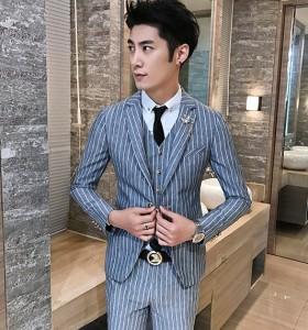 789bdba946702 メンズスーツ 3点セット ベスト セットアップ ビジネス パンツ 紳士服 礼服 結婚式 二次会 入学