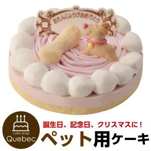 """""""誕生日ケーキ バースデーケーキ ワンちゃん用 犬用 ネコちゃん用 記念日ケーキ ストロベリー ペットケーキ"""""""