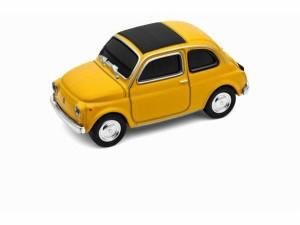 """""""AUTODRIVE 16GB【654259】USBメモリ 16GB Fiat Nuova500/フィアット500 ヌォーヴァ/YELLOW イエロー【USBフラッシュメモリー/USBメモリー"""""""
