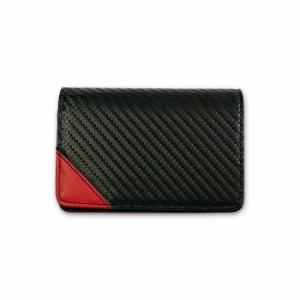 ca6b54c29c6d GT-MOBILE 名刺入れ カーボン調 高級感 名刺入れ カードケース メンズ ブラック カーボン