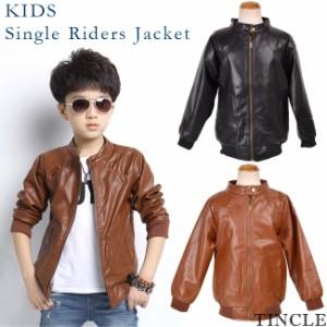 0b81f7e35dcea セール 子供服 ライダース ジャケット シングル コート ジュニア 子供 子ども ボーイズ 男の子 KIDS105