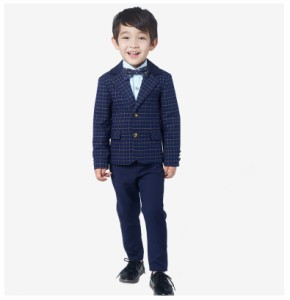 こどもスーツ キッズ 子供服 4点セット フォーマルスーツ 結婚式 卒業式 入学式 入園式  男の子スーツ キッズスーツ 七五三
