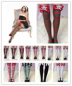 激安 サンタコスプレ ストッキング ポイント消化 靴下 大人気 可愛い レディース 年始年末 舞台用 クリスマスパーティへ!!