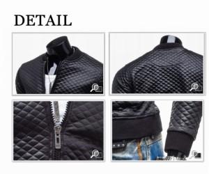 送料無料PUライダースジャケット メンズファッション アウター メンズ パーカー ジャンパー・ブルゾン レザージャケット