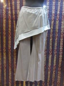 ひらひらスカート付ヨガエスニックパンツエスニック衣料エスニックアジアンファッション