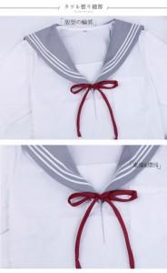 セーラー服 入学式/卒業式 スーツ 長袖/半袖 女の子 学生服コスチューム 女子高生 制服 上下セットコスプレ衣装/仮装/制服/学生服