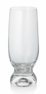 ボヘミアングラス ジーナ タンブラー(ビールグラス)6個セット