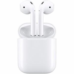 【Apple国内正規品】 AirPods 完全ワイヤレスイヤホン  MMEF2J/A  ( Bluetooth対応 マイク付き )[宅急便][送料無料][新品]