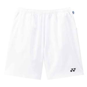 ヨネックス テニス ジュニアベリークールハーフパンツ 16 ホワイト トレーニングウェア(1550j-011)
