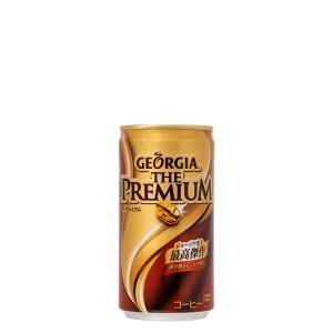 3ケースセット コカコーラ ジョージア・ザ・プレミアム 185g缶 飲み物 ソフトドリンク 缶コーヒー 30本×3ケース 買い回り ポイント消化