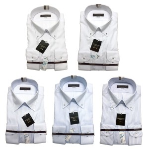 ジョージケント GEORGE KENT Yシャツ メンズ 長袖 ワイシャツ 形態安定 レギュラーシルエット クリアキープ ホワイト ブルー S,M,L,LL