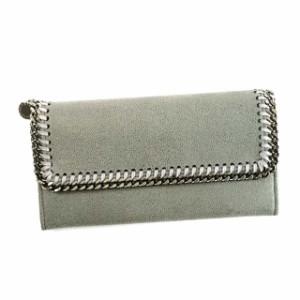88c37f1f735e ステラマッカートニー 長財布 レディース 使いやすさ 二つ折り ファスナー財布 カードポケット大容量