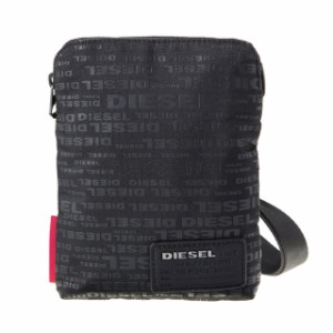 a0dbfc2d205f ディーゼル DIESEL バッグ X04815 PR027 H5839 斜めがけバッグ ミニショルダー ALLOVER LOGO ブラックロゴ柄