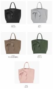 バッグ《リボンチャーム&サブバッグ付き3wayハンドバッグ ショルダーバッグ レディース ////bag5051