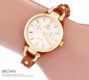 138cd32f29 腕時計 背当て付きカントリー調デザインウォッチ レディース 小物 雑貨 腕時計 合皮 //6//wat5025