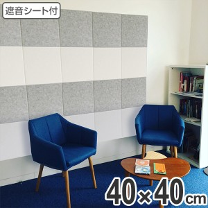 吸音材 吸音パネル 防音フェルトボード フェルメノン 40×40cm 吸音 防音 壁 ( パネル ボード 吸音ボード 防音ボード 壁面 天井 床 壁に