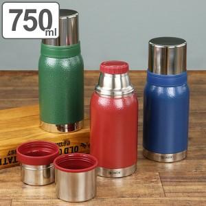 水筒 ダルトン DULTON ステンレス コップ付 ダブルカップ バキュームボトル 750ml ( ボトル 保温 保冷 ステンレスボトル コップ ステン