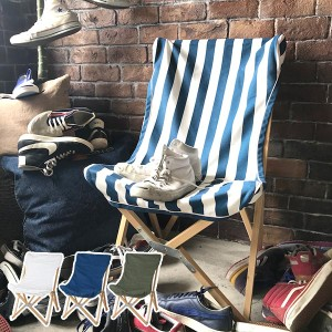 チェア ダルトン DULTON アウトドア ウッデンビーチチェアー 折りたたみ 椅子 ( 送料無料 折りたたみチェア アウトドアチェア 折りたた