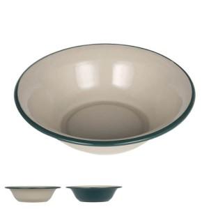 アウトドア 食器 お皿 ダルトン DULTON 直径20.5cm エナメルディーププレート ( 皿 さら プレート ホーロー 琺瑯 ホーロープレート ボウ