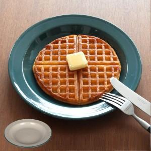 アウトドア 食器 お皿 ダルトン DULTON 直径24cm ( 皿 さら プレート ホーロー 琺瑯 ホーロープレート レジャー食器 取り皿 おしゃれ キ