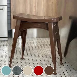 スツール 高さ46cm ダルトン DULTON キッチン 腰掛 スチール ヴィンテージ調 椅子 カラー ( イス いす 腰掛け チェア チェアー 玄関 ミ