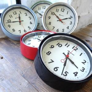 掛け時計 ダルトン DULTON ウォールクロック 壁掛け 時計 おしゃれ シンプル ( 壁掛け時計 掛時計 アナログ 連続秒針 ヴィンテージ イン
