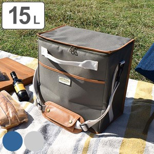 レジャー バッグ 15L レジャーバッグ BERTRAND ( 保冷バッグ 保冷 ボックス型 保冷袋 エコバッグ 15リットル 15 お弁当袋 ダブルファス
