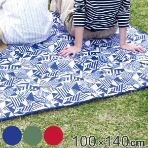 レジャーシート 100×140cm Sサイズ Laid-Back ( ピクニックシート ピクニックマット 100cm 140cm 少人数 2人用 3人用 長方形 キルティ