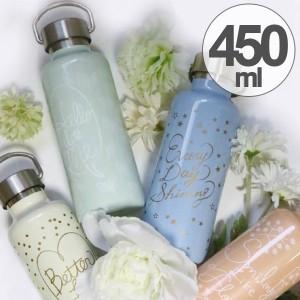 水筒 ステンレスボトル ミア 保温保冷 450ml ( ボトル ステンレス レディース 保温 保冷 マグボトル 直飲み 軽量 ボトル ステンレス製