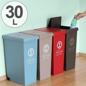 ゴミ箱 30L ふた付き スライドペール 30リットル ( ごみ箱 フタ付き ダストボックス キッチン スリム プラスチック 30l ペール 角型 縦