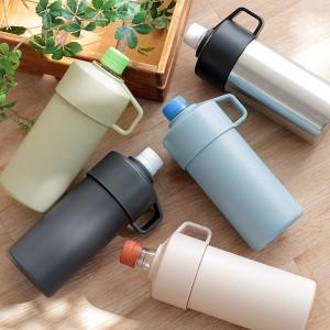 ペットボトルクーラー 保冷 真空 500ml STOS ペットボトルホルダー ( 500ml用 ペットボトル用 ペットボトルホルダー ペットボトルケース